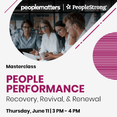 People Matters & PeopleStrong Masterclass