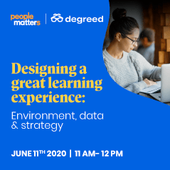 Designing a great learning experience: Environment, data and strategy