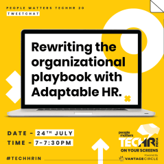 Tweetchat on Rewriting the organizational playbook with Adaptable HR