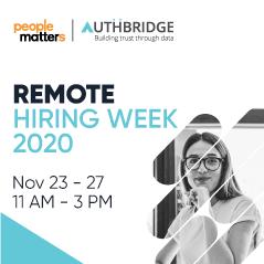 Remote Hiring Week 2020