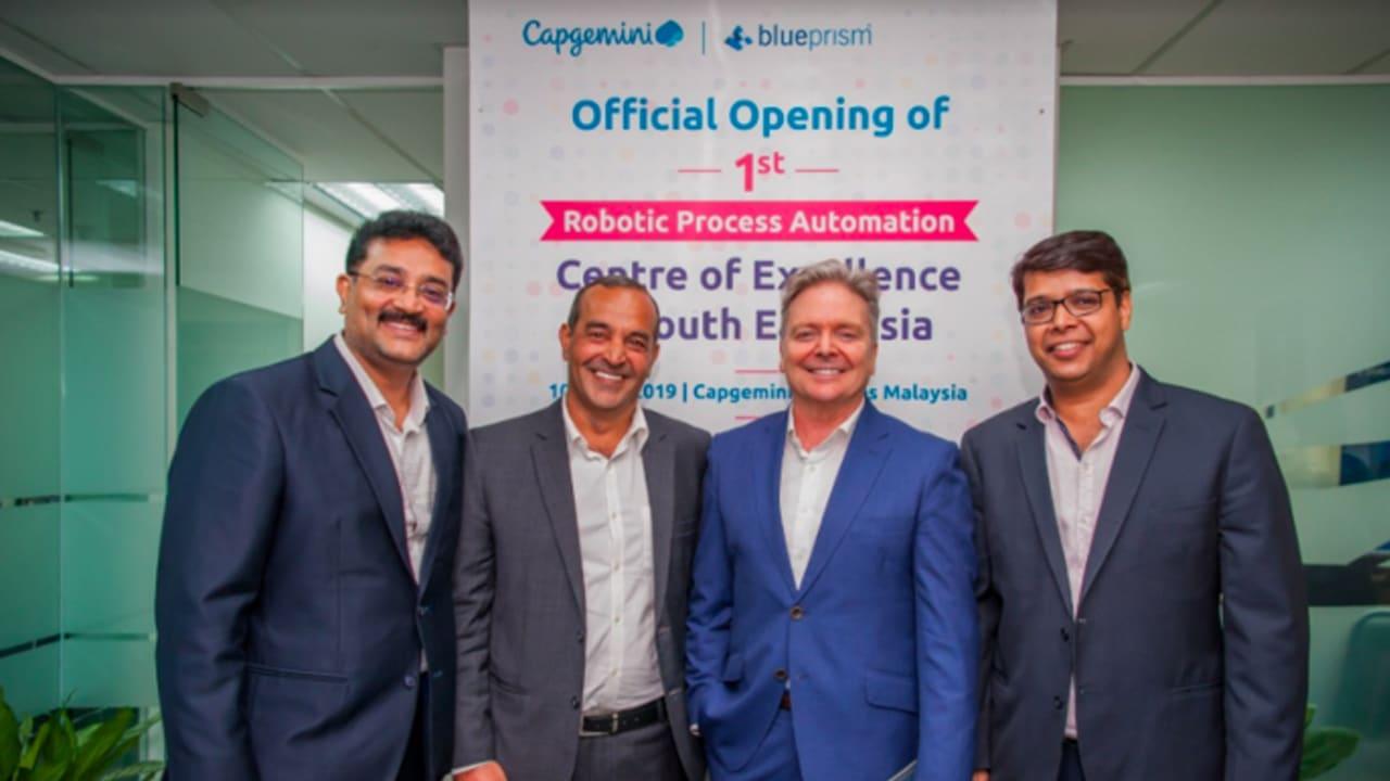 Capgemini unveils RPA center for SEA