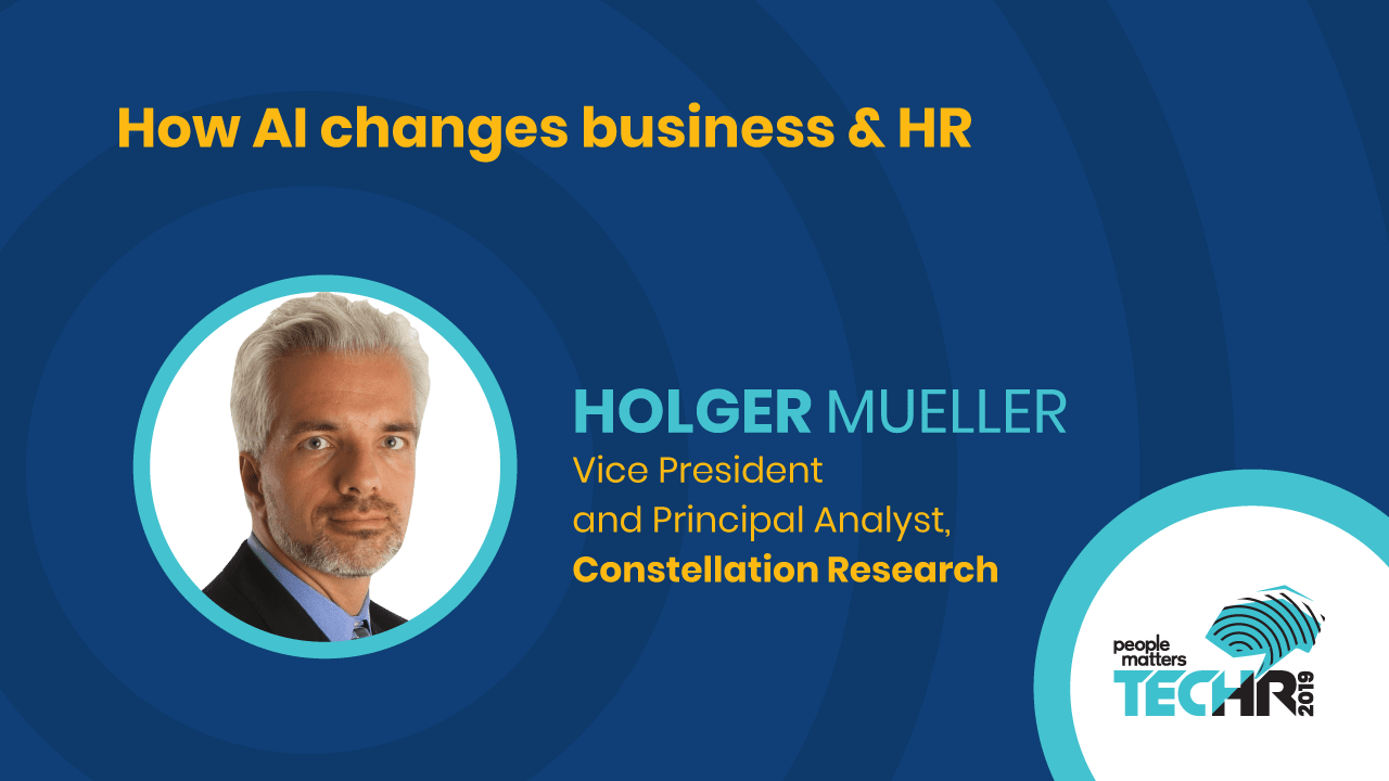 How AI changes business & HR