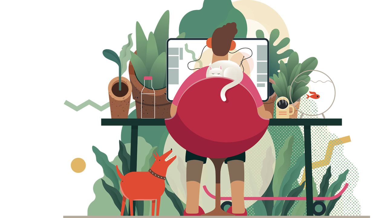 'Switching-off' when working from home