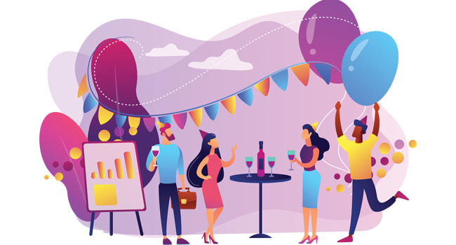 8 social distancing ideas for your office parties