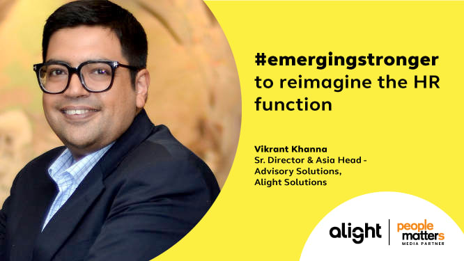 Emerging Stronger to reimagine the HR function