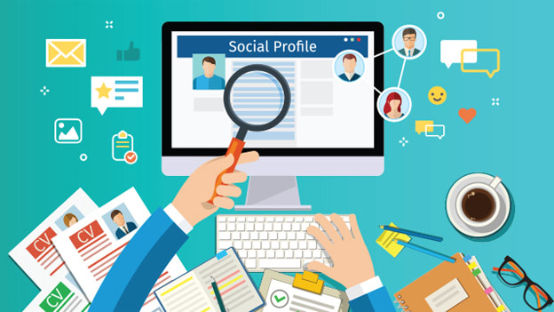 Detailed social media profile