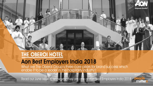 What are The Oberoi Group's three grand pillars of success?