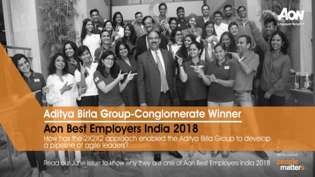 What is Aditya Birla Group's key to develop agile leaders