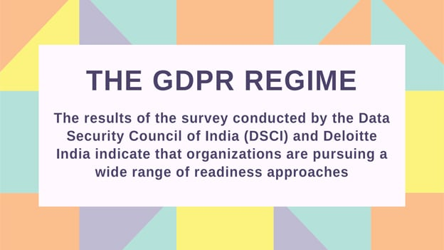 The GDPR Regime: Are Indian organizations ready for GDPR compliance?