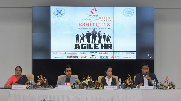 Industry leaders guide XAHR students over 'Agile HR'