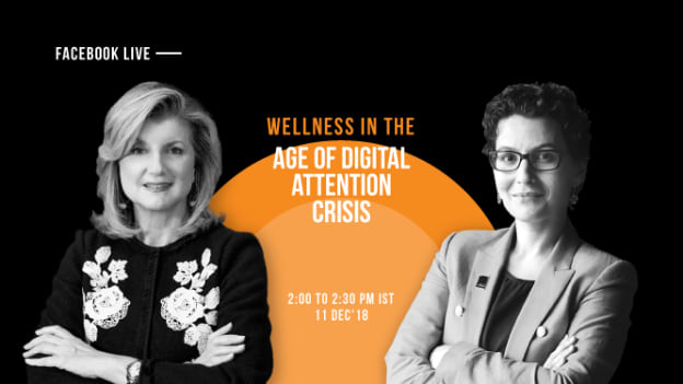 FB live: Wellness in the age of digital attention crisis