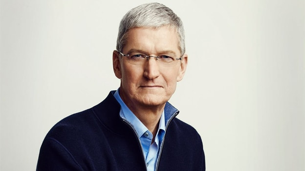 Apple's chief executive Tim Cook got a 22% salary hike in 2018
