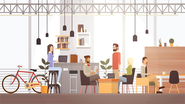 The growth of Co-working spaces and how they can help budding Entrepreneurs