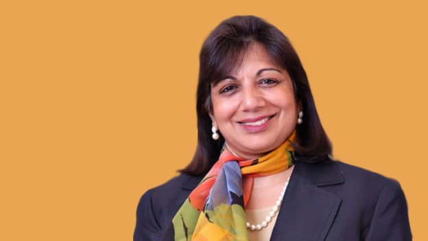 Kiran Mazumdar Shaw back on the Infosys board with 92.2% votes in her favor