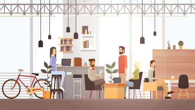 Co-working spaces: Implications for learning
