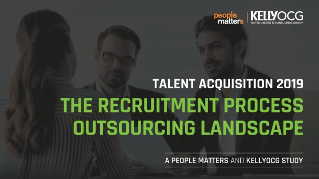 Talent Acquisition 2019 - The Recruitment Process Outsourcing Landscape | A People Matters - KellyOCG Study