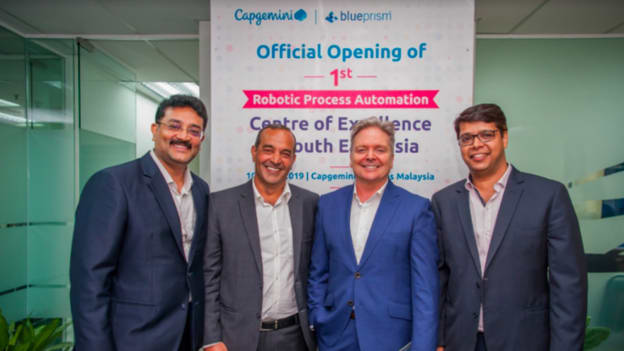 Capgemini unveils robotic process automation center for SEA