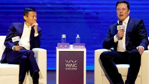 Elon Musk and Jack Ma debate AI, jobs, and education