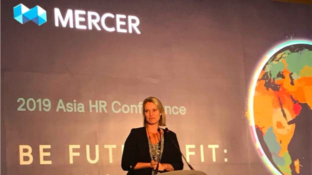 We have to start becoming comfortable with being uncomfortable: Peta Latimer, CEO Mercer Singapore