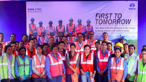 Tata Steel deploys women in all shifts in mines