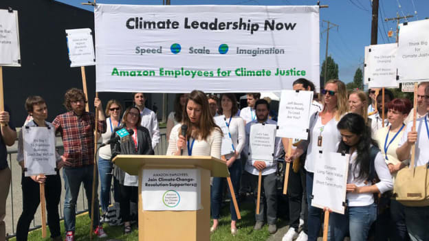 About 1,000 Amazon employees plan to walkout for 'climate justice'