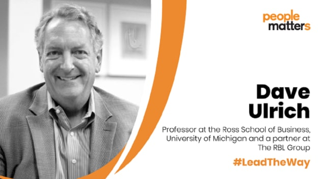 Rapid Fire: Lead the way with Dave Ulrich