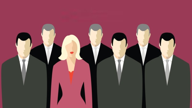 New research shows the more women on a company's board, the more market value is lost