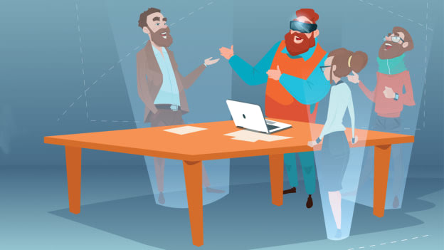 The future is here: Managing virtual teams