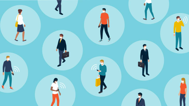 The world of work: Socially distant but more connected than ever before