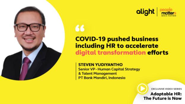 Bank Mandiri HR Leader, Steven Yudiyantho on 'Adaptable HR'