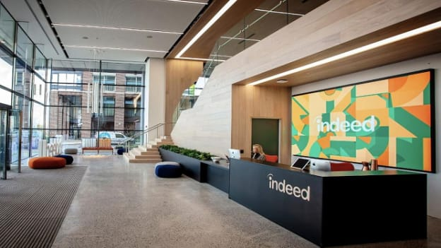 Indeed says employees won't be required to return to offices before July 2021