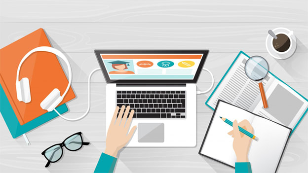 The difference between virtual classroom & online training