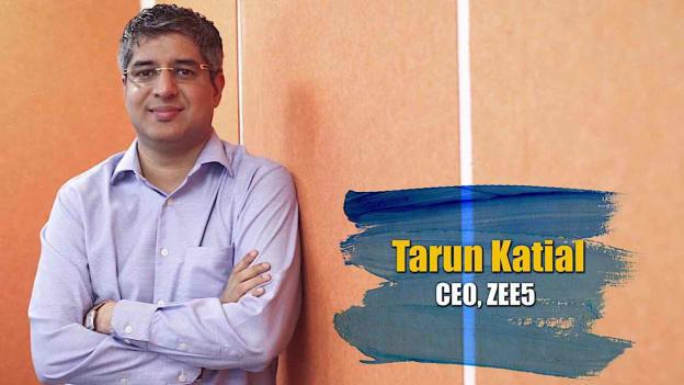 Tarun Katial steps down as CEO of ZEE5