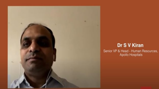 Video: Apollo's Dr S V Kiran on making work human
