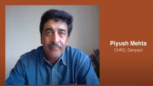 Video: Genpact's Piyush on building a culture for remote working