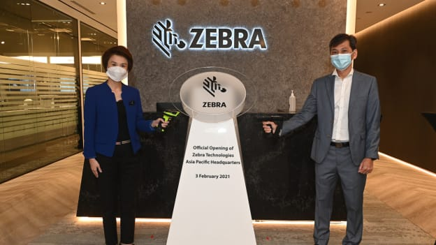 Zebra opens new HQ, hints at hiring plans