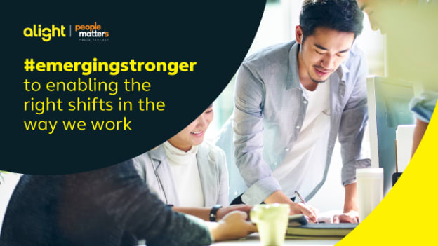 Emerging stronger to enabling right shifts in the way we work
