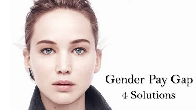 Jennifer Lawrence's Essay on Gender Pay Gap and HR - 4 Solutions