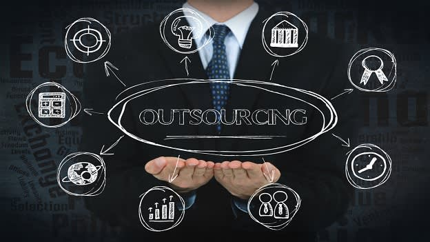 Rise in trend of outsourcing all learning services