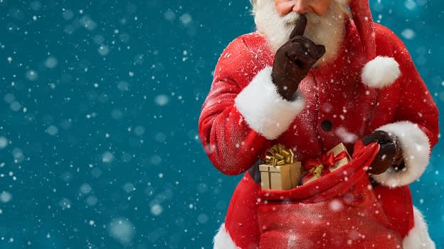 Santa Claus's secret management strategy