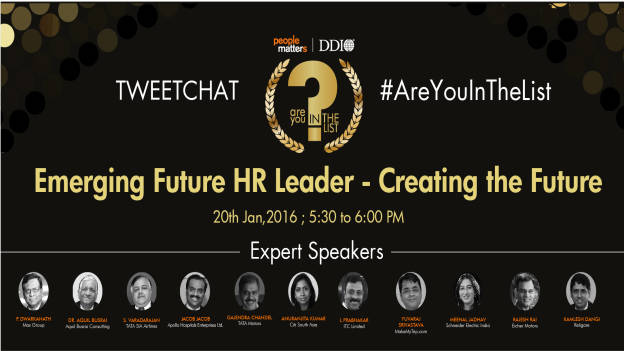 Are You In The List Awards Tweetchat: Emerging HR Leaders