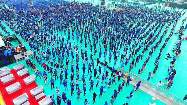 Capgemini employees set Guinness Record
