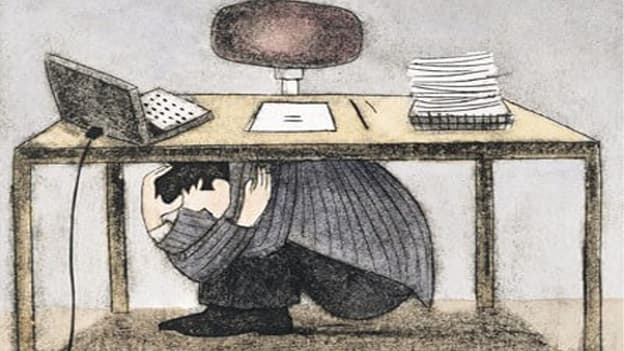 Do you feel 'not good enough' for your job?