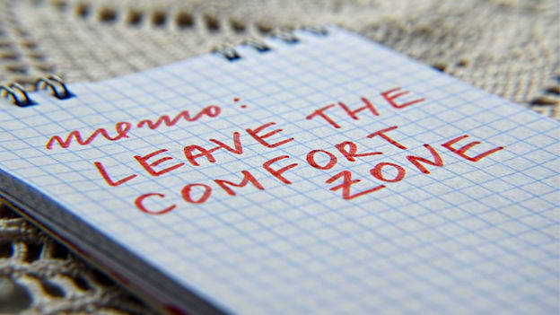 Stepping out of the comfort zone – A leader's view