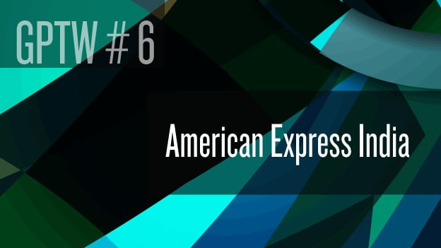 #6 American Express India: A distinct employer