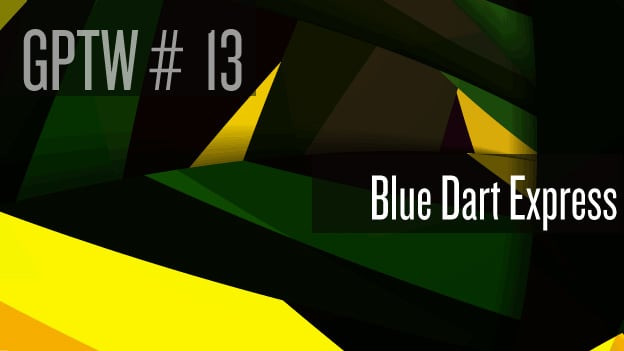 #13 Blue Dart Express: Indomitable people force