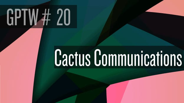 Article: #20 Cactus Communications: Culturally happy
