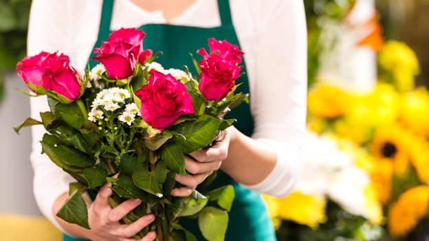 Gardeners and florists are the happiest workers, says study