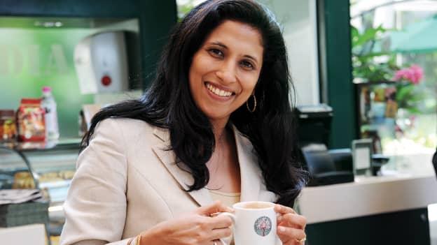The gender cliff: Leena Nair