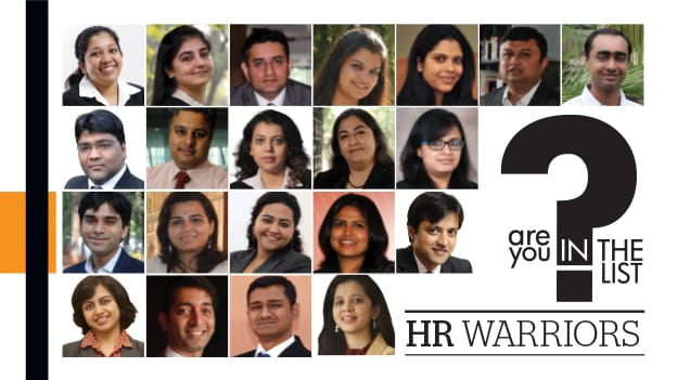HR warriors - The winners of Are You in The List 2013
